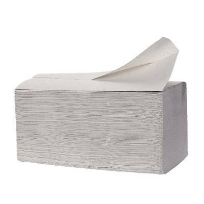 Billede af Håndklædeark, 1-lags, 31x25cm, C-fold, natur, 100% genbrugspapir