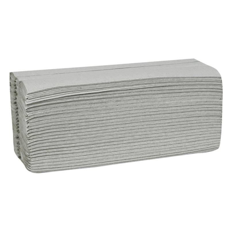 Billede af Håndklædeark, Abena Care-Ness Nature, 1-lags, C-fold, 31x25cm, natur, 100% genbrugspapir