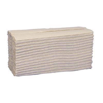 Billede af Håndklædeark, Abena Care-Ness Nature, 2-lags, C-fold, 31x25cm, natur, 100% genbrugspapir