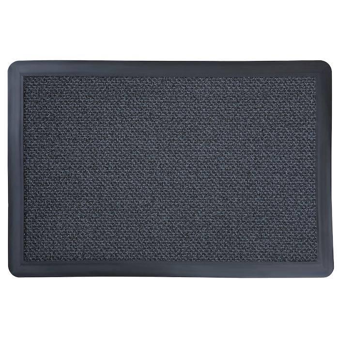 Image of   Tekstilmåtte, 3M Nomad Aqua 8500, 10x2m x 8mm, grå, PA/polyester/PVC *Denne vare tages ikke retur*