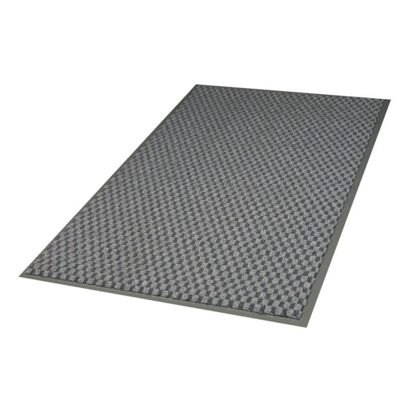 Image of   Tekstilmåtte, 3M Nomad Aqua 6500, 6500GY12, 2x1,3m x 9mm, grå, PP/PA/PVC