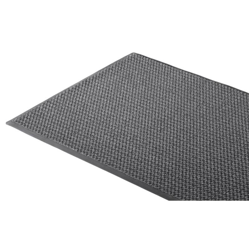 Image of   Tekstilmåtte, 3M Nomad Aqua 6500, 6500GY69, 90x60cm x 9mm, grå, PP/PA/PVC