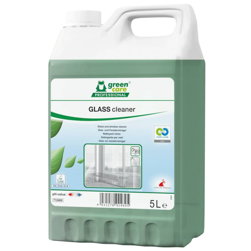 Image of   Glasrens, Green Care Professional Glass Cleaner, 5 l, med farve og parfume