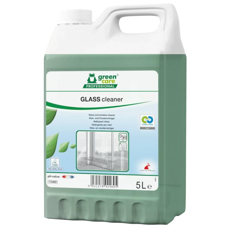 Image of   Glasrens, Green Care Professional Glass Cleaner, 5 l, med farve og parfume
