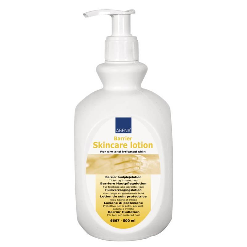 Hudlotion, Abena, 500 ml, uden farve og parfume, 16% fedt