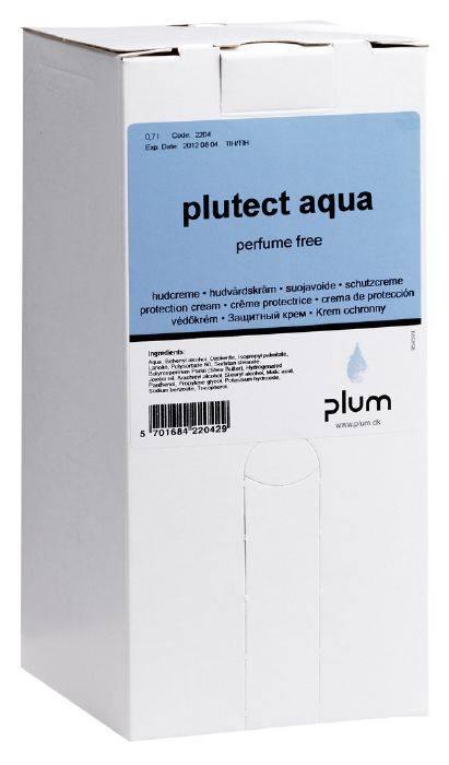 Håndcreme, Plum Plutect Aqua, 700 ml, uden farve, parfume og parabener