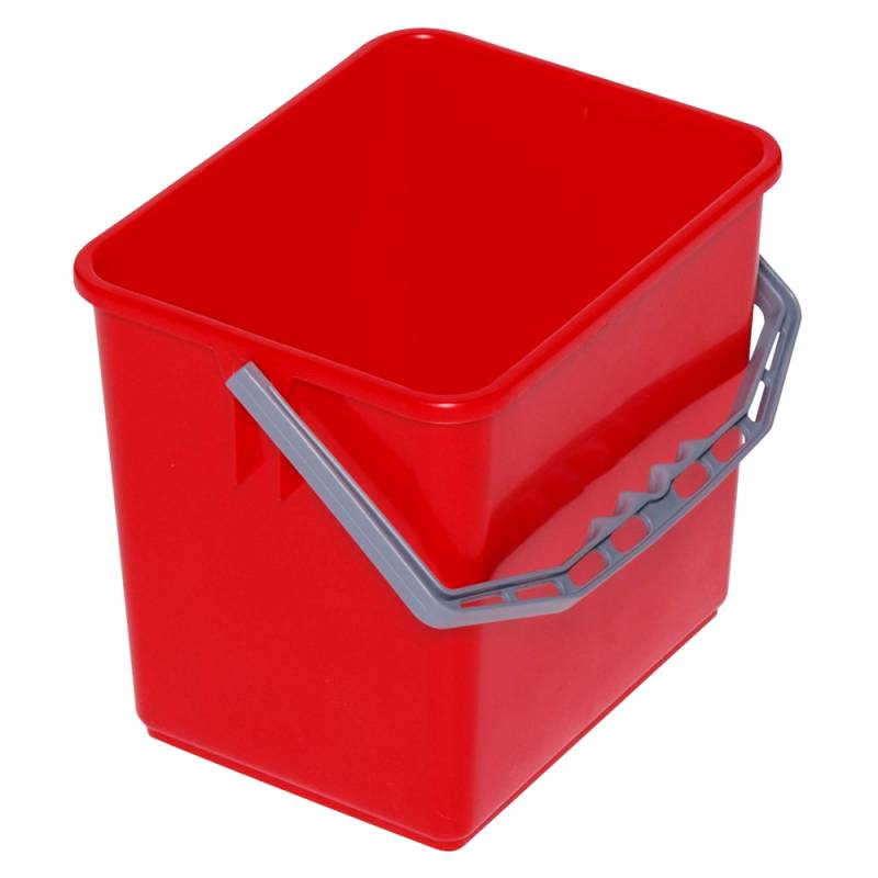 Image of   Inventarspand, Tina Trolleys, 24x19x22cm, 6 l, rød, plast, med hank