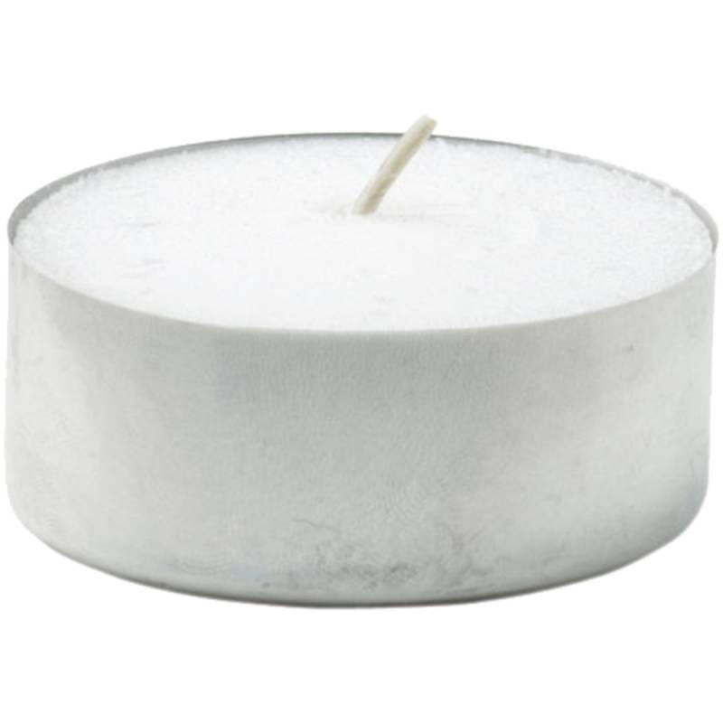 Fyrfadslys, Duni, Ø6cm, hvid, 10 timer, 100% paraffin *Denne vare tages ikke retur*