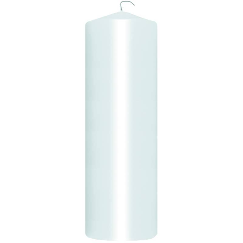 Image of   Bloklys, Duni, 22cm, Ø7cm, hvid, 90 timer *Denne vare tages ikke retur*