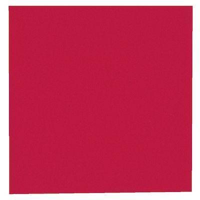 Billede af Frokostserviet, Bulkysoft, 1-lags, 1/4 fold, 33x33cm, rød, 100% nyfiber