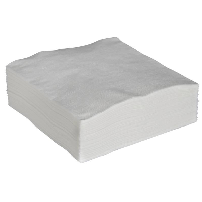 Billede af Økonomiserviet, 1-lags, 1/4 fold, 32x33cm, hvid, papir