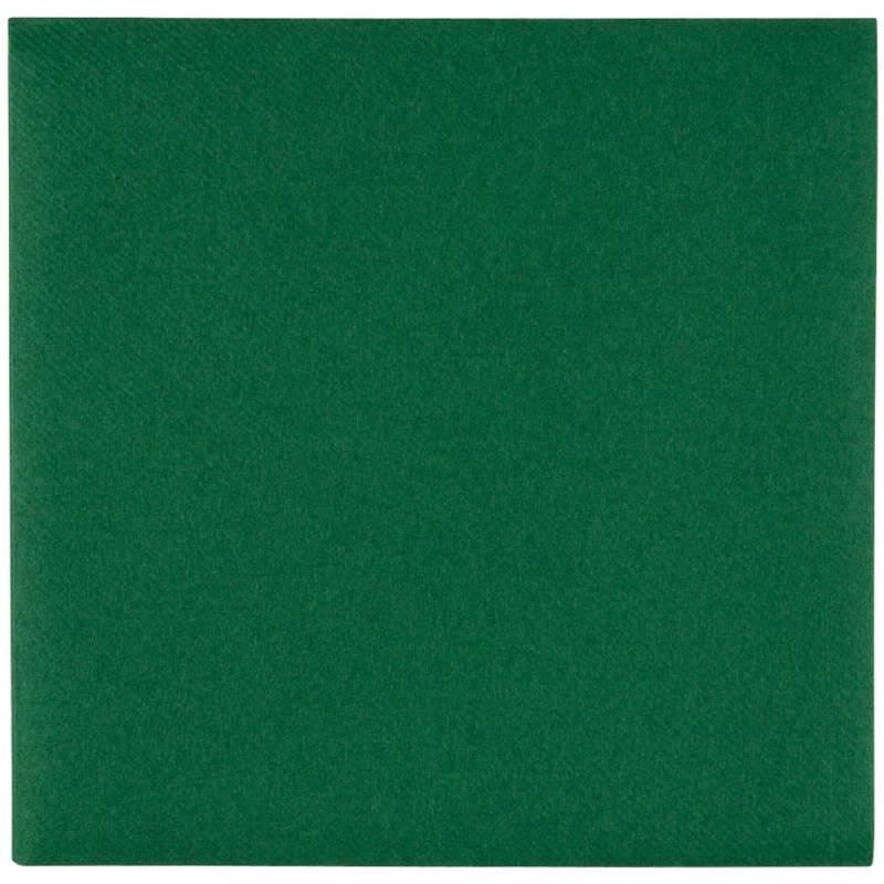 Image of   Middagsserviet, Abena Gastro-Line, 1/4 fold, 40x40cm, mørkegrøn, airlaid
