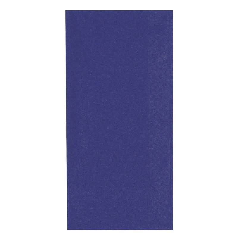 Middagsserviet, Abena Gastro-Line, 2-lags, 1/8 fold, 40x40cm, mørkeblå, 100% nyfiber