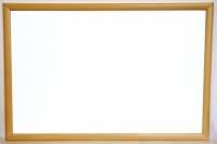 Whiteboard tavle 60x80cm m/træramme