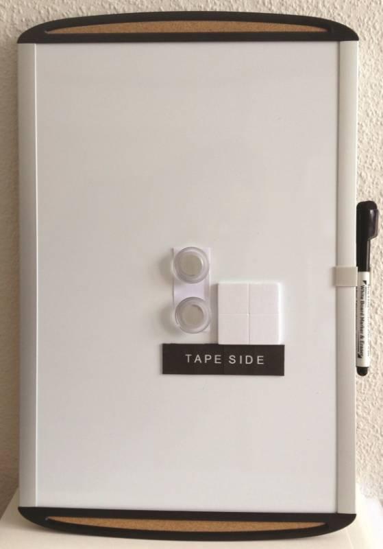Image of   whiteboard tavle magnetisk 46x61cm