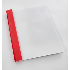 Billede af Tilbudsmappe A4 rød