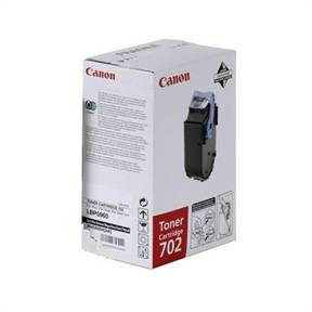 Image of   702BK black toner cartridge