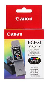 Image of   BCI-21C color ink refill