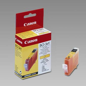 Yellow Inkjet Cartridge (BCI-3eY)