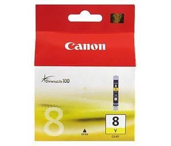 Billede af CLI-8Y yellow ink cartridge