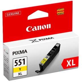 Billede af CANON CLI-551XL Y ink yellow