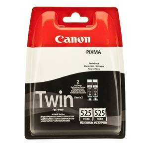 Image of   Black Inkjet Cartridge Dual Pack (PGI-525PGBK)