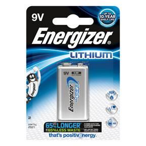 Billede af Energizer Ultimate Lithium 9V