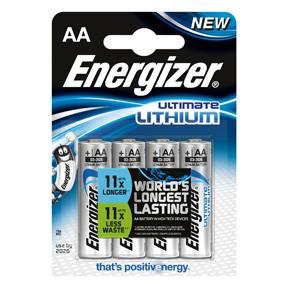 Billede af Energizer Ultimate Lithium AA (4)