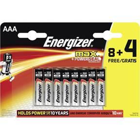 Billede af Energizer MAX AAA/LR03 (8+4)