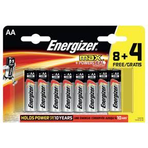 Billede af Energizer MAX AA/LR6 (8+4)