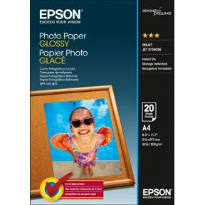 Image of   A4 Photo Paper Glossy 20 sheet