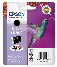 Billede af EPSON Ink Black 7 ml
