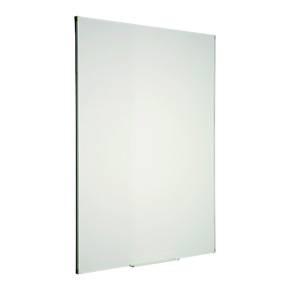 Image of   WB tavle glasemaljeret hvid 60x90cm