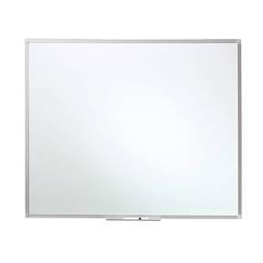 Image of   WB tavle glasemaljeret grå 100x120cm