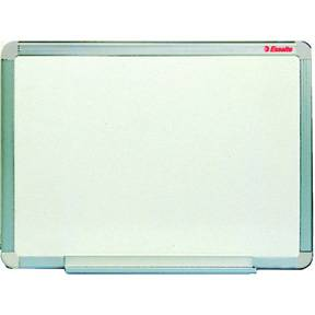 Image of   WB tavle glasemaljeret grå 120x250cm