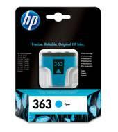 Billede af HP 363 cyan ink cartridge