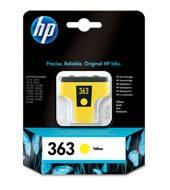 Billede af HP 363 yellow ink cartridge