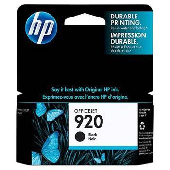 Billede af HP 920 ink black (DE) (EN) (FR)