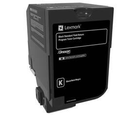 Billede af Black Laser Toner (74C2SK0)