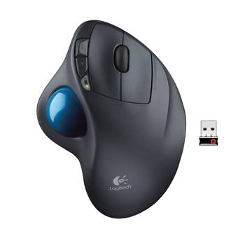 M570 Wireless Trackball, Black