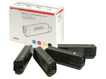 Rainbow Laser Toner Kit (43698501)