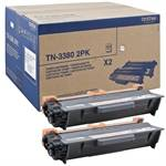 Image of   Black 2-Packs Laser Toner (TN3380)