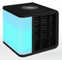 Luftkøler evaLIGHT Plus Personlig sort - dækker op til 3 m2