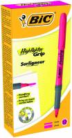 Tekstmarker Bic brite liner Grip pink