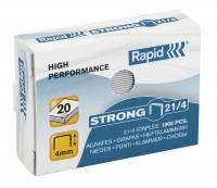 Hæfteklammer galvaniseret 21/4 Rapid strong 1000stk/pak