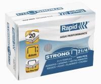 Hæfteklammer galvaniserede Rapid strong 21/4 5000stk/pak
