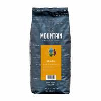 Kaffe Mountain Brasil hele bønner 1kg/ps