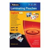 Lamineringslommer 125 mic. 60x90mm 100stk/pak