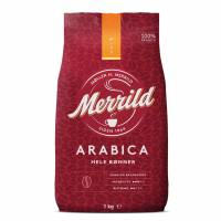 Kaffe Merrild Classic hele bønner 1kg/ps