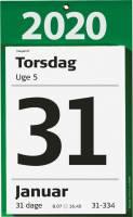 Kæmpeafrivningskalender m/bags. tekst 17x24cm 20 2540